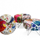 Runda designer sittpallar.