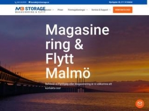 Magasinering & Flytt i Malmö