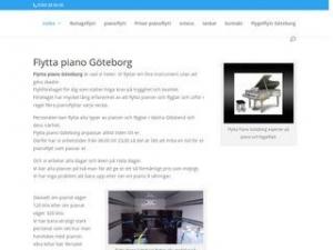 Pianoflytt i Göteborg