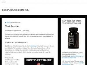 Testoboosters