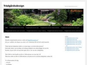 Trädgårdsdesign - dekorationer