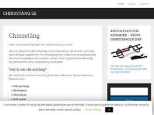 Chinsstång.se