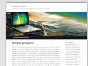 Gamingdator Stationär