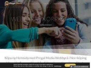 WEBBYRÅ i NORRKÖPING e-handel | Appar | Webbshop | Pregal Media