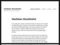 Markiser Stockholm - Markiser-Stockholm