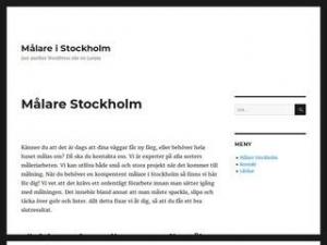 Målare Stockholm - Målare i Stockholm