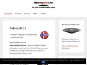 Balansplatta