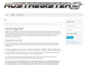 Rostregister