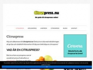 Citruspress.nu