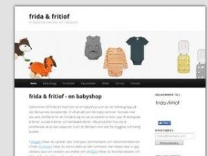 Frida & Fritiof - En babyshop med eko- och hälsoprofil