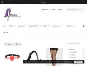 Piska.se - Underkläder, piskor, flogger, maskeradkläder