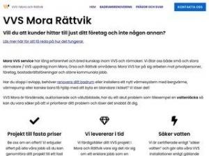 Mora VVS - Rörmokare i Mora, Orsa och Rättvik