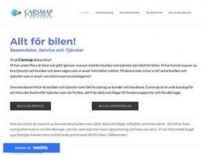 CarsMap - Allt för bilen