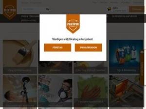 PaintPro E-Handel för Måleri